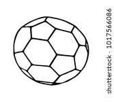 the ball vector illustration.... | Shutterstock .eps vector #1017566086