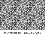 black and white animal texture. ... | Shutterstock . vector #1017567259