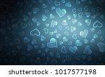 Dark Blue Vector Background...