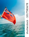 the uk red ensign the british... | Shutterstock . vector #1017583678