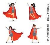 vector illustrations in flat... | Shutterstock .eps vector #1017590839