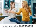 anger. angry fair haired slim...   Shutterstock . vector #1017598759