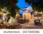 tinos island  greece  may 18 ... | Shutterstock . vector #1017600286