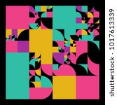 vector minimal covers... | Shutterstock .eps vector #1017613339