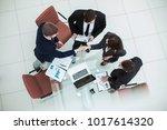 reliable handshake business... | Shutterstock . vector #1017614320