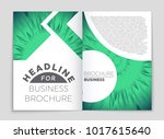 abstract vector layout... | Shutterstock .eps vector #1017615640