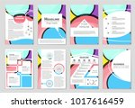 abstract vector layout... | Shutterstock .eps vector #1017616459
