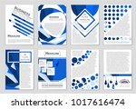 abstract vector layout... | Shutterstock .eps vector #1017616474