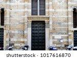 Full Frame Shot Of Romanesque...