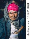 gangtok sikkim   december 18... | Shutterstock . vector #1017617890