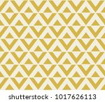 Stock vector abstract geometric pattern with lines yellow triangles and rhombuses 1017626113