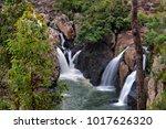 little millstream falls near... | Shutterstock . vector #1017626320