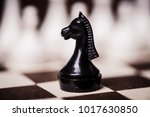 chess knight. strategy game.... | Shutterstock . vector #1017630850