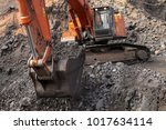 open pit manganese mining and... | Shutterstock . vector #1017634114