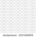 seamless geometric ornamental... | Shutterstock .eps vector #1017640393
