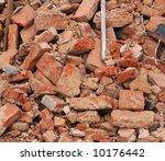 Heap Of A Beaten Brick   Grung...