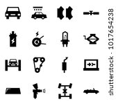 origami style icon set   car... | Shutterstock .eps vector #1017654238