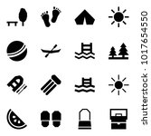 origami style icon set   park... | Shutterstock .eps vector #1017654550