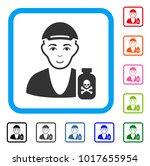gladness toxic dealer vector... | Shutterstock .eps vector #1017655954