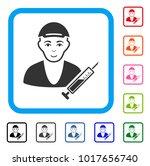 glad drug dealer vector... | Shutterstock .eps vector #1017656740
