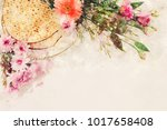 watercolor style and abstract... | Shutterstock . vector #1017658408