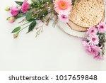 pesah celebration concept ... | Shutterstock . vector #1017659848