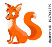 Cartoon Vector Fox Character