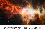 planets  stars and galaxies in... | Shutterstock . vector #1017663508