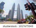 cityscape. kuala lumpur ...   Shutterstock . vector #1017675343