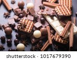 three different types of... | Shutterstock . vector #1017679390