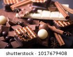 three different types of... | Shutterstock . vector #1017679408