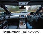 rural car drive with external... | Shutterstock . vector #1017697999