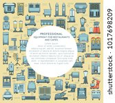 background with professional... | Shutterstock .eps vector #1017698209