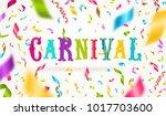 carnival type design and... | Shutterstock .eps vector #1017703600