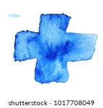 watercolor cross  abstract...   Shutterstock .eps vector #1017708049