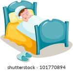 illustration of isolated boy... | Shutterstock .eps vector #101770894