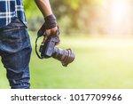 professional photographer... | Shutterstock . vector #1017709966