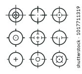 Different Icon Set Of Targets...