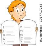 illustration of a kid boy... | Shutterstock .eps vector #1017717268