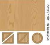 wooden texture vector... | Shutterstock .eps vector #101772100