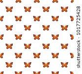 summer butterfly pattern...   Shutterstock .eps vector #1017725428