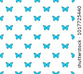 butterfly in nature pattern... | Shutterstock .eps vector #1017725440