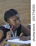 cite soleil august 25 a female... | Shutterstock . vector #101774020