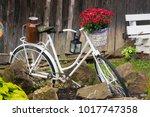 village still life with old... | Shutterstock . vector #1017747358