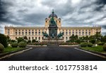 empress maria theresia monument ... | Shutterstock . vector #1017753814
