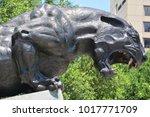 charlotte north carolina june... | Shutterstock . vector #1017771709
