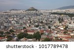 densely populated urban... | Shutterstock . vector #1017789478