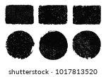vector grunge banners.grunge... | Shutterstock .eps vector #1017813520