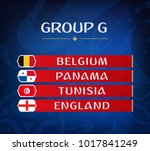 football championship groups.... | Shutterstock .eps vector #1017841249