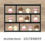 an illustration of a black...   Shutterstock . vector #1017848059